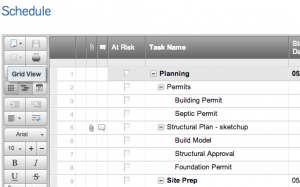 The New Project Scheduler